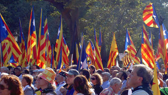 L'independentisme augmenta, segons The Daily Telegraph