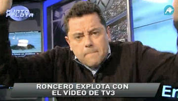 "Roncero qualifica de ""hitleriano"" el vídeo de TV3"