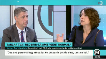 "Albiol propone ""refundar"" TV3"