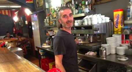 Pep Rafart, del Bar Serrallonga de Salt (Girons)