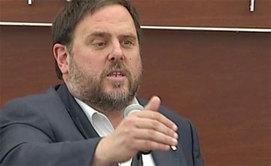 Junqueras aparca el refer�ndum per a BCN World