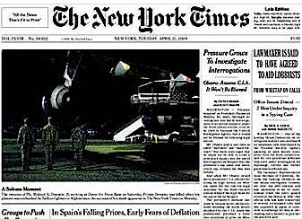 'The New York Times' alerta de la deflación en España