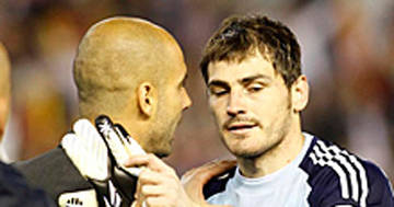Guardiola, referent de Casillas