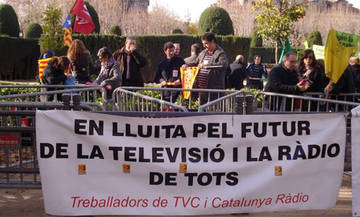 """De moment, per sort, no som Telemadrid"""