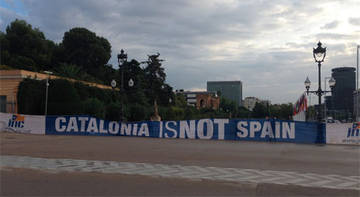 'El Catalonia is not Spain', a Pedralbes