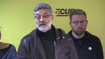 "La CUP replica a Torrent que ""la democracia no se aplaza"""