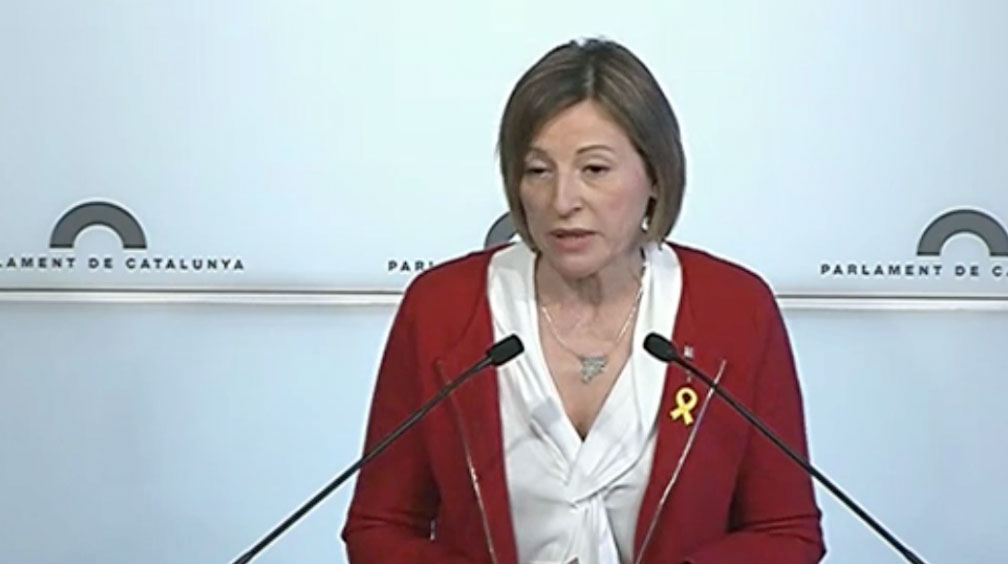 'Marrón' de Forcadell a Torrent