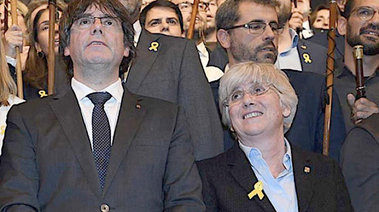 Golpe a Puigdemont