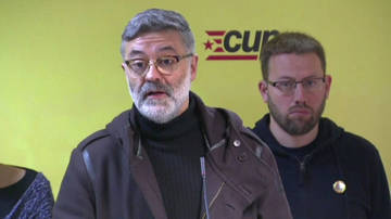 La CUP acusa al Govern de traicionar al independentismo