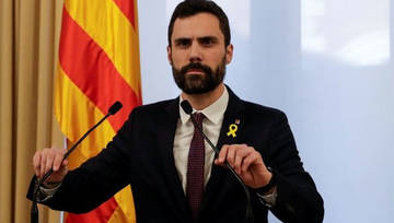 Roger Torrent canvia de parer