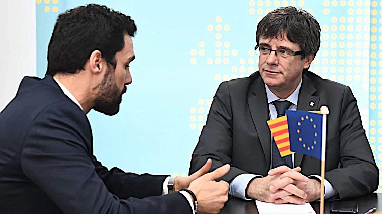 ERC obsesiona a Puigdemont
