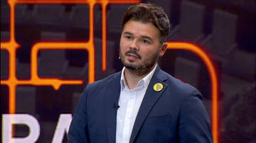 Rufián surt en defensa de Rivera