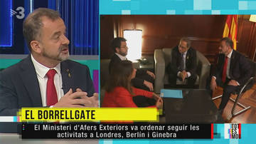 "TV3 intenta construir el ""borrellgate"""