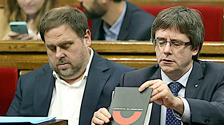 Puigdemont, impotent