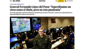 'Toque' de un general a Colau