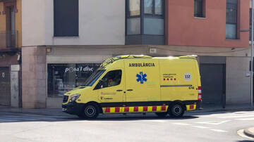 Trabajadores de ambulancias sin tests