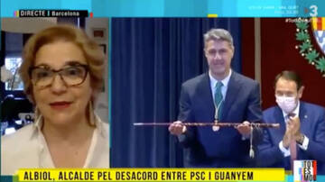 Vicent Sanchis tolera els insults de Rahola a TV3
