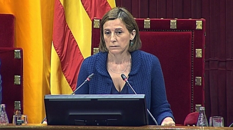 Resentimiento de Forcadell con los partidos indepes
