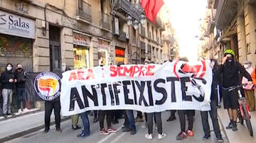 Antifascistas contra Vox
