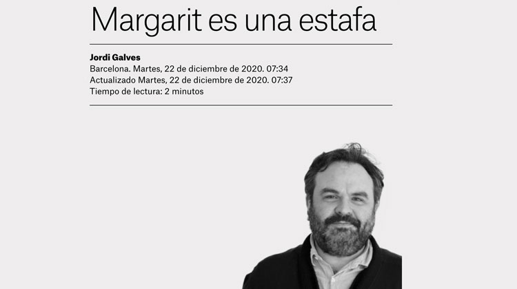 Indepes contra Joan Margarit per rebre el Cervantes de la mà del Rei