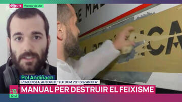 Discurso antifa en TV3