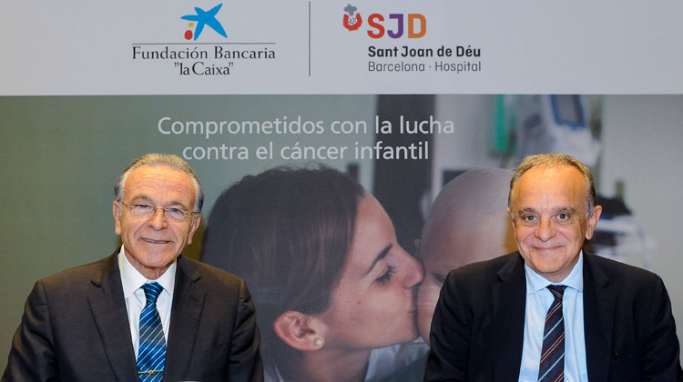 "La Fundación Bancaria ""la Caixa"" destina  3 millones de euros al nuevo SJD Pediatric Cancer Center Barcelona del Hospital Sant Joan de Déu"
